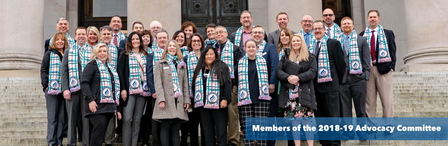 2018-19 Advocacy Committee group photo