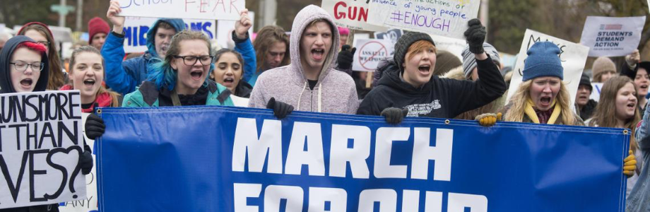 picture of students during the March for Our Lives