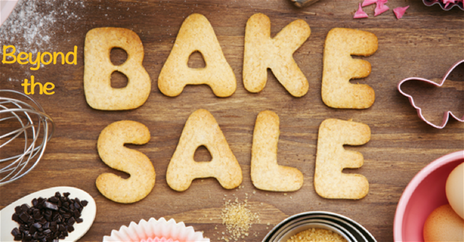 Beyond the Bake Sale graphic